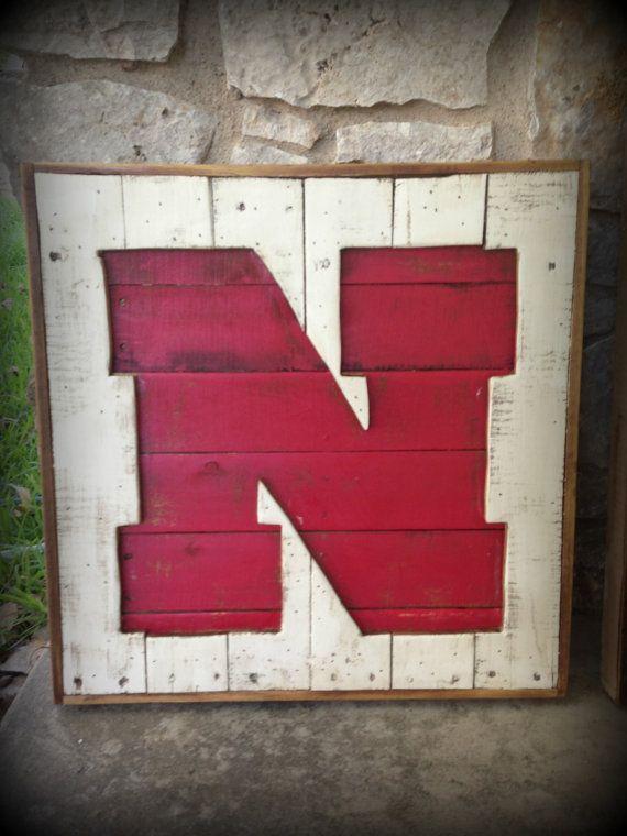 Recycled Pallet Nebraska Husker N Recycled Pallet Nebraska Huskers Recycled Pallets
