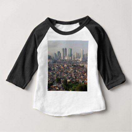 Jakarta indonesia skyline baby t shirt travel clothing jakarta indonesia skyline baby t shirt travel clothing negle