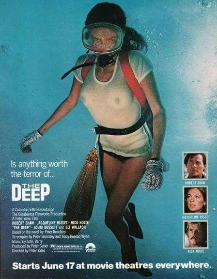 Image result for the deep movie poster bisset