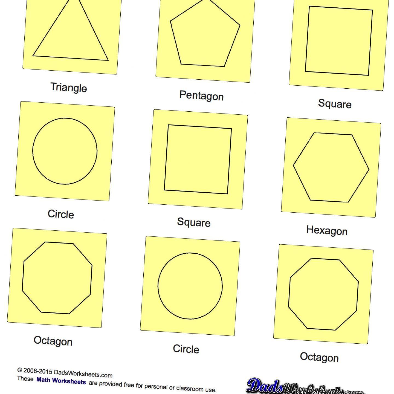Basic Geometry Basic Shapes With Images