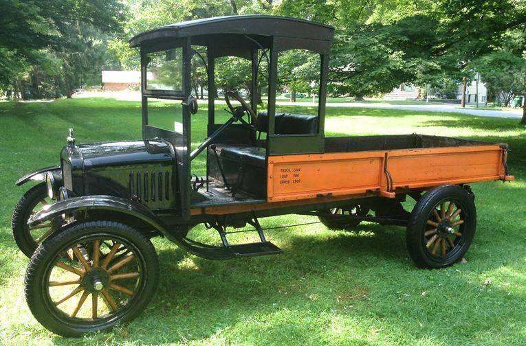 "1918 Ford Model TT, one ton cargo delivery truck ~ Miks' Pics ""Era Automobiles ll"" board @ http://www.pinterest.com/msmgish/era-automobiles-ll/"
