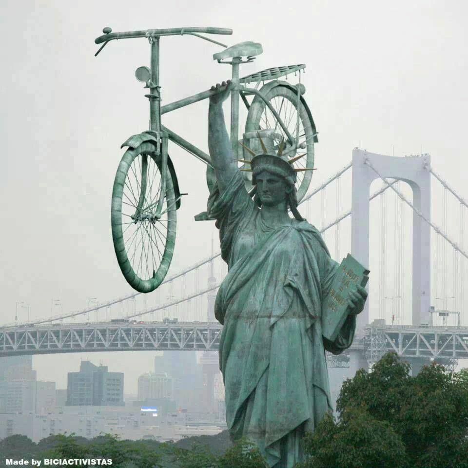 Hay algo que te da la bicicleta más que cualquier otro medio de transporte: LIBERTAD. Ciclaramanga