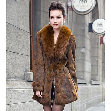 casacos de pele de coelho 3  e4805c9becf
