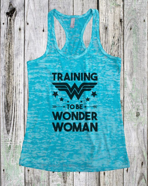 c9903e1176f  Training to be Wonder Woman  Tank Top.
