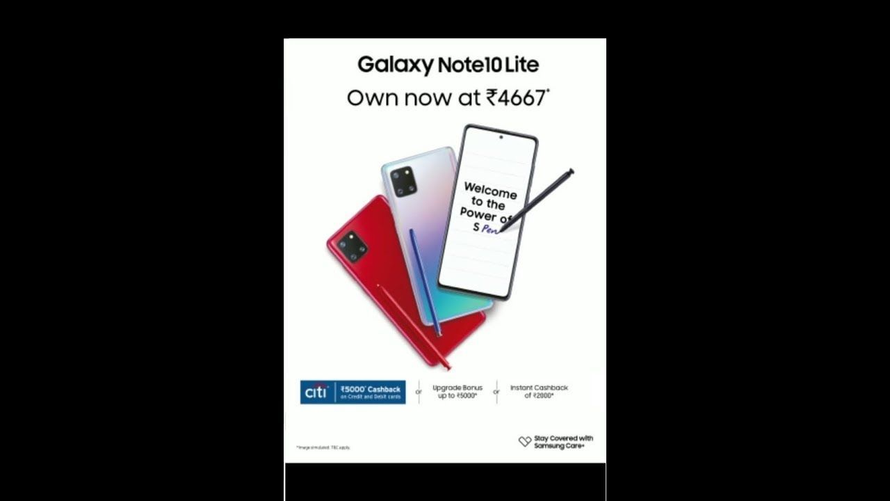 Galaxynote10lite With The Intelligent S Pen Is A Game Changer In The Premium Smartphone Category Premium Smartphone Galaxy Note 10 Samsung A Series