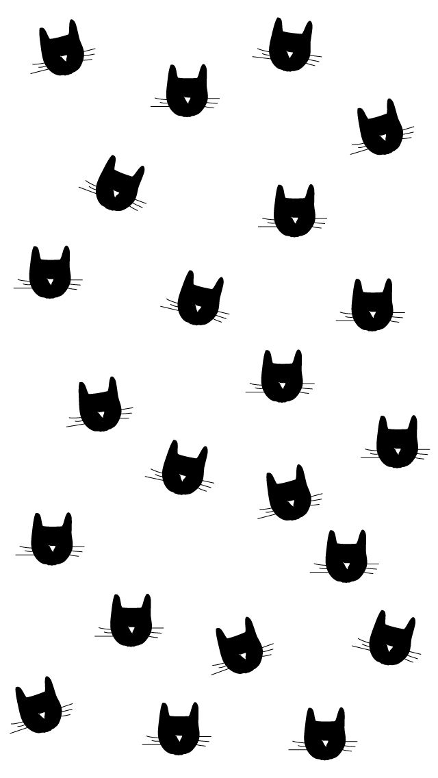 Pin By Middle Of Somewhere On Wallpaper Cat Wallpaper Iphone Wallpaper Pattern Wallpaper
