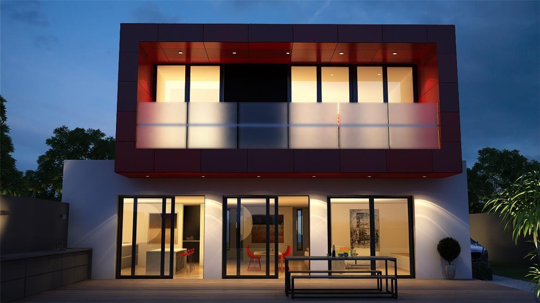 Casa can girona 200m2 proyectos a disposici n casas prefabricadas casas dise os de casas y - Casas prefabricadas girona ...