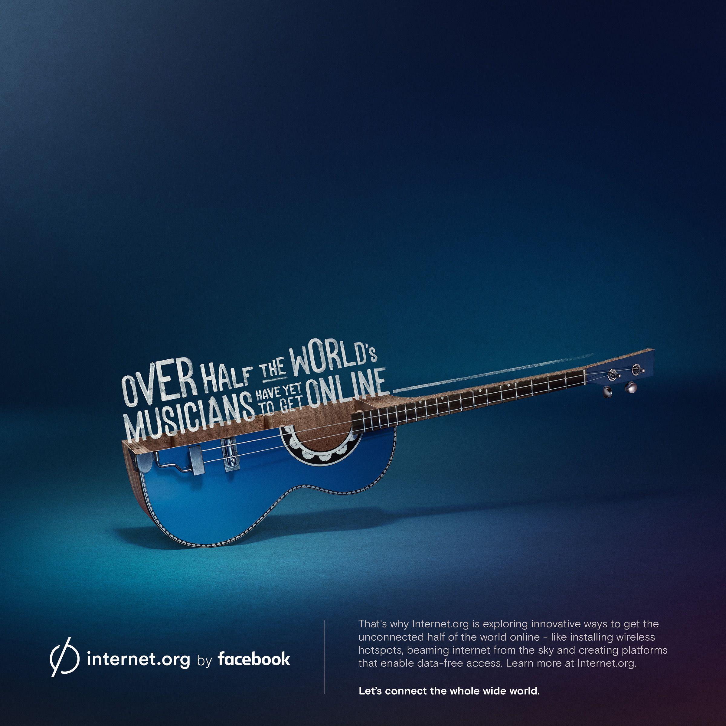 Cebu Digitales Marketing Musiker Gitarre Werbung Internet Wide World