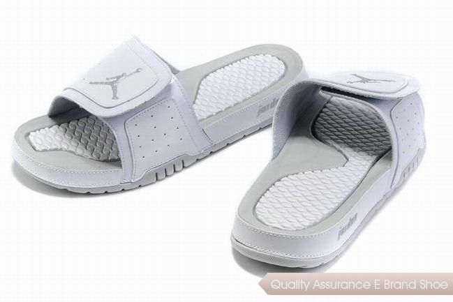 c001cf862f67 nike air jordan 2 retro white grey hydro slide sandals sneakers p 2868