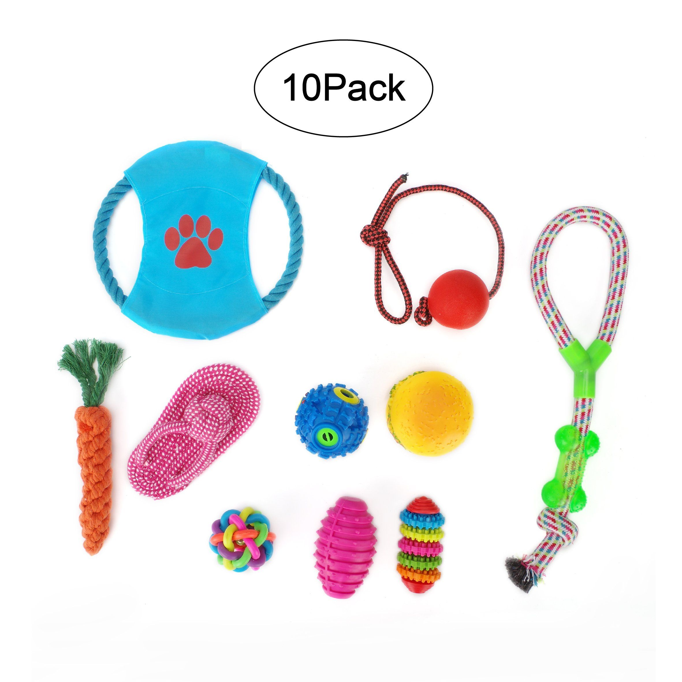 Small Dog Toys Doggiekit No Stuffing Dog Toy Variety Pack Pull