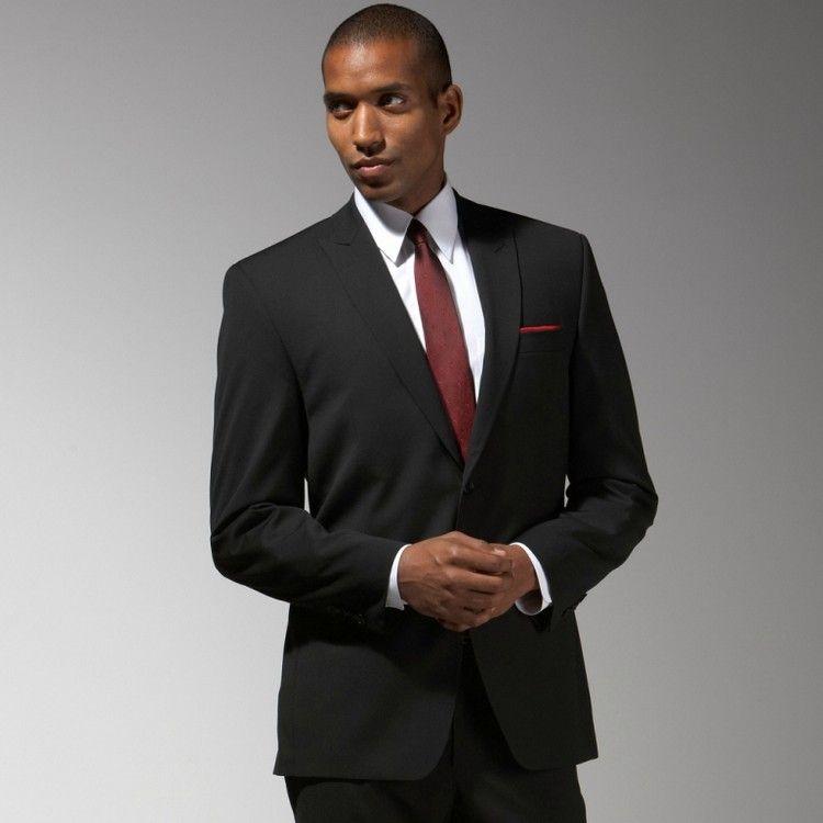meilleur service 6a553 8061b Costume noir - avec quelles couleurs porter le costard noir ...