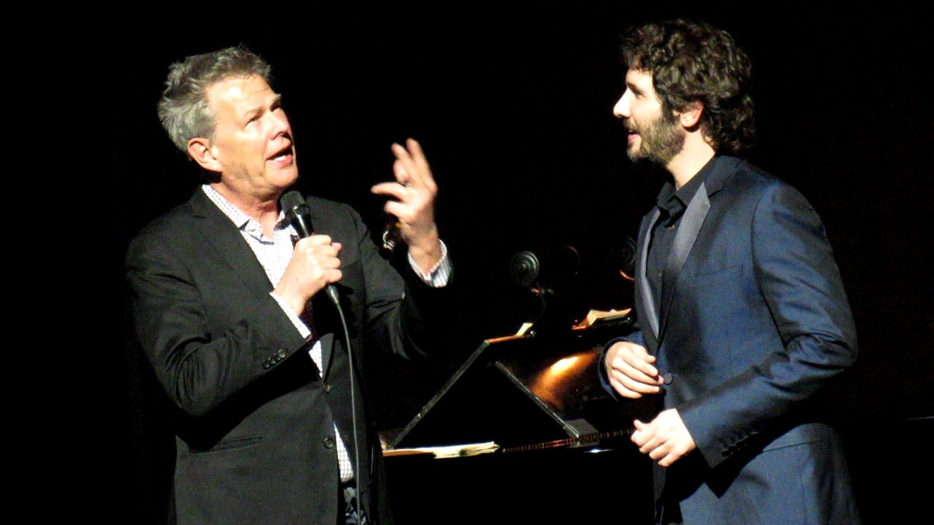 Josh Groban With David Foster And Lena Hall All I Ask Of You Live The Fosters Youtube The Great Comet