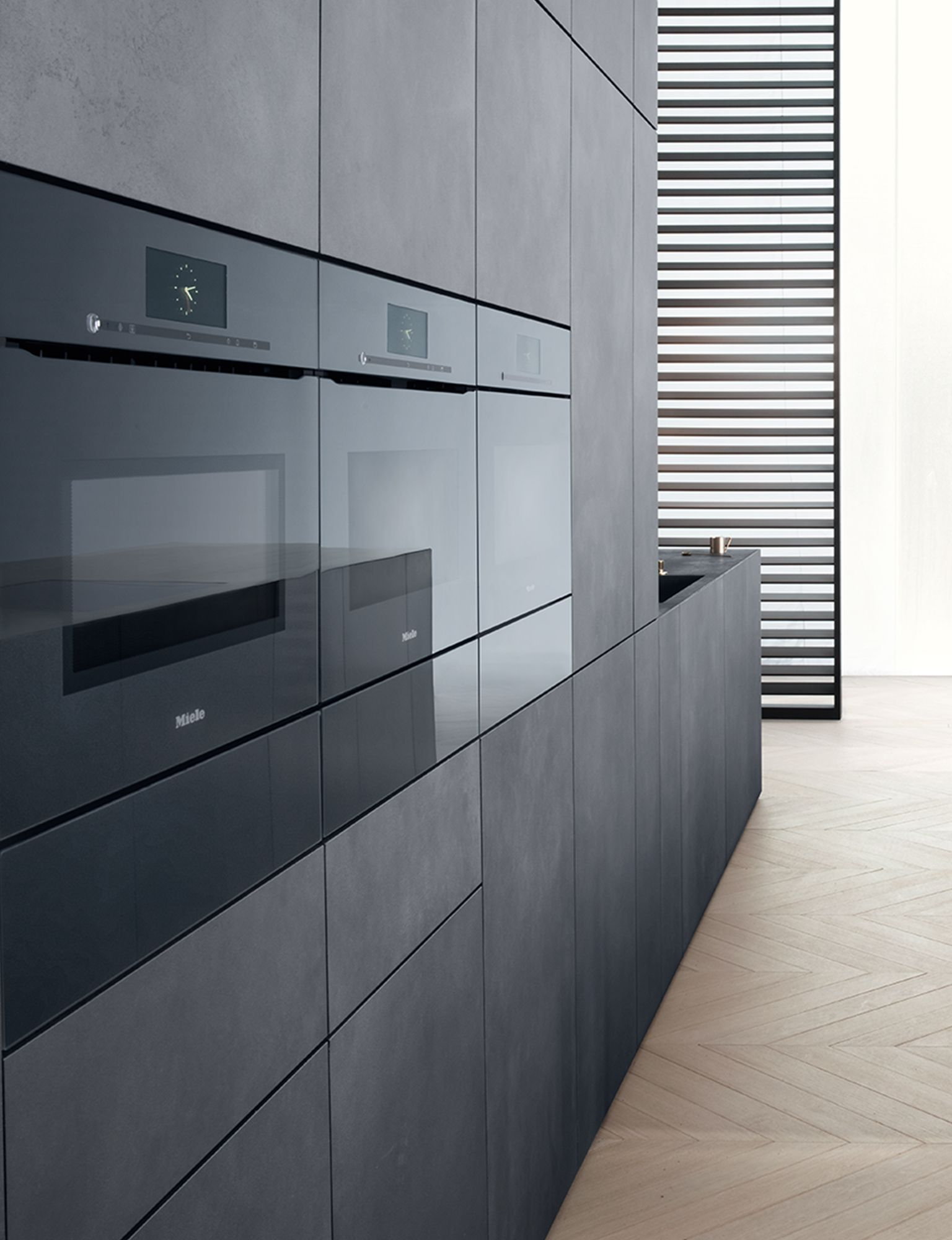 ArtLine built-in appliances with Touch2Open » Miele ...