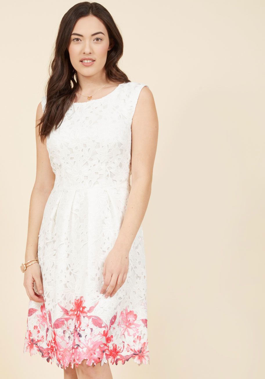 Flirty for eternity lace dress lace dress lace overlay and hemline