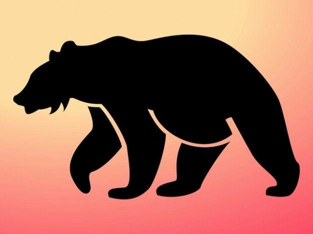Freepik Graphic Resources For Everyone Bear Silhouette Animal Silhouette Vector Art Design