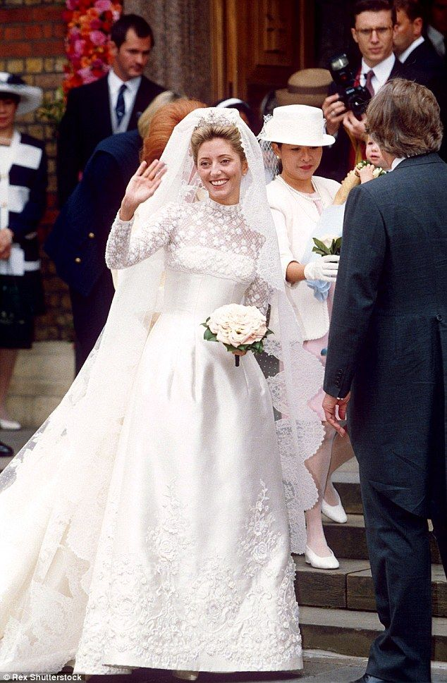 Nicky Hilton\'s $75,000 wedding gown mimics the style of royal brides ...