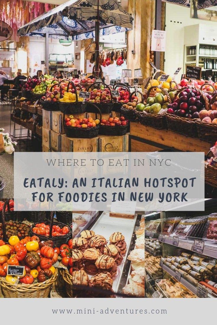 Where To Eat In New York: Eataly Italian Market, Flatiron