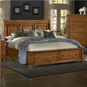 Vaughan Bassett Reflections King Bedroom Group   Lapeer Furniture U0026 Mattress  Center   Bedroom Group Flint