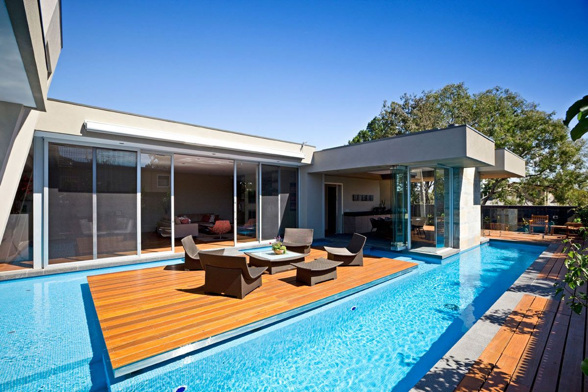Striking Home In Canterbury Australia By Canny Modern Pools Pool Patio Pool Designs