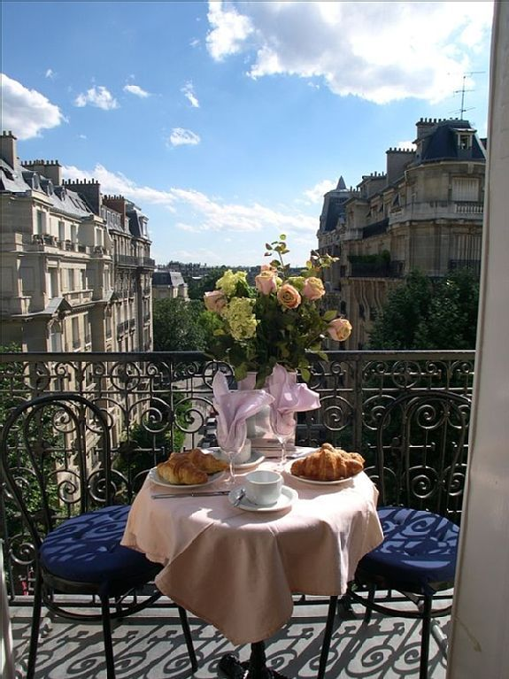 Special Paris Apartment Sale! Rare Balcony, + Paris Eiffel View + A/C