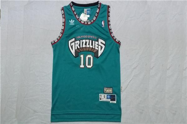 official photos fc93b ad3ab Nwt Men'S Mike Bibby #10 Vancouver Grizzlies Throwback ...