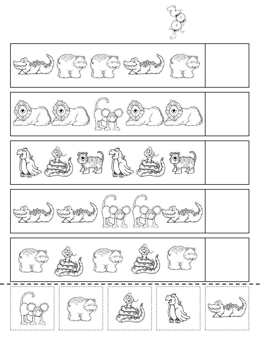 Zoo Patterns Scribd Zoo preschool, Zoo activities