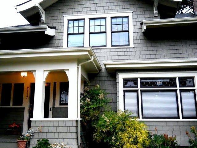 black windows on house - Google Search