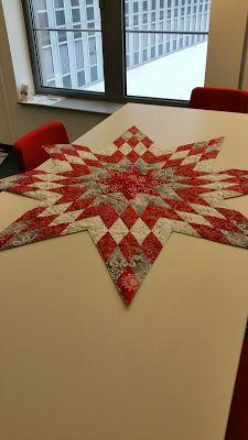 mo 39 s time ein stern patchwork tischl ufer patchwork und co n hen weihnachten tischl ufer. Black Bedroom Furniture Sets. Home Design Ideas