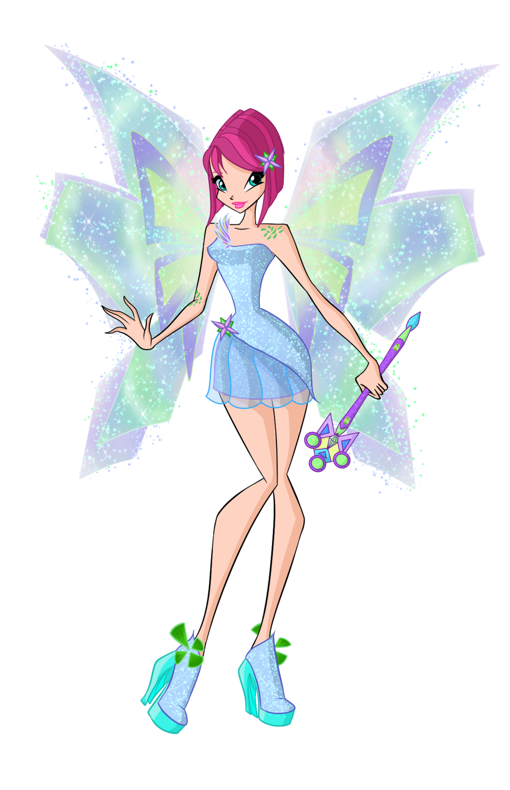 Winx Tecna Mythix By Dragonshinyflame Deviantart Com On
