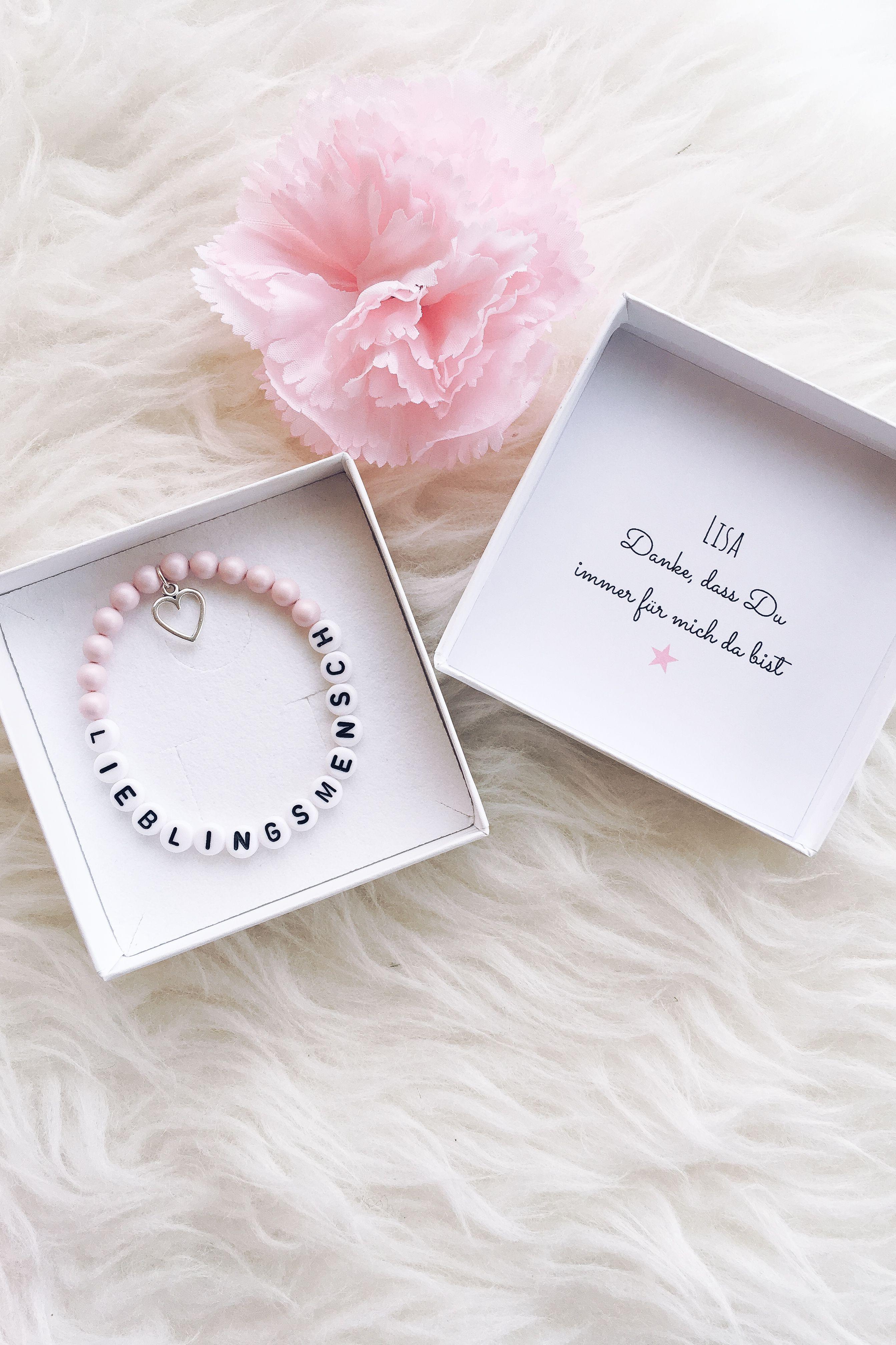 Lieblingsmensch Armband