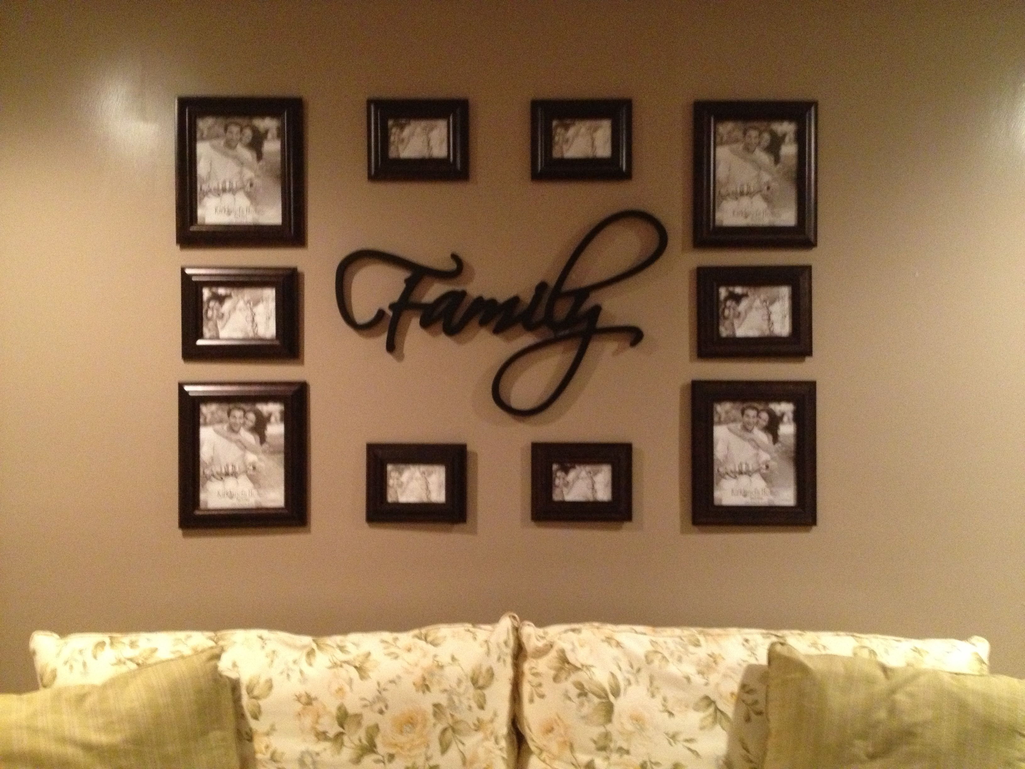 photo arrangement for a wall for the home home decor photo arrangements on wall picture. Black Bedroom Furniture Sets. Home Design Ideas