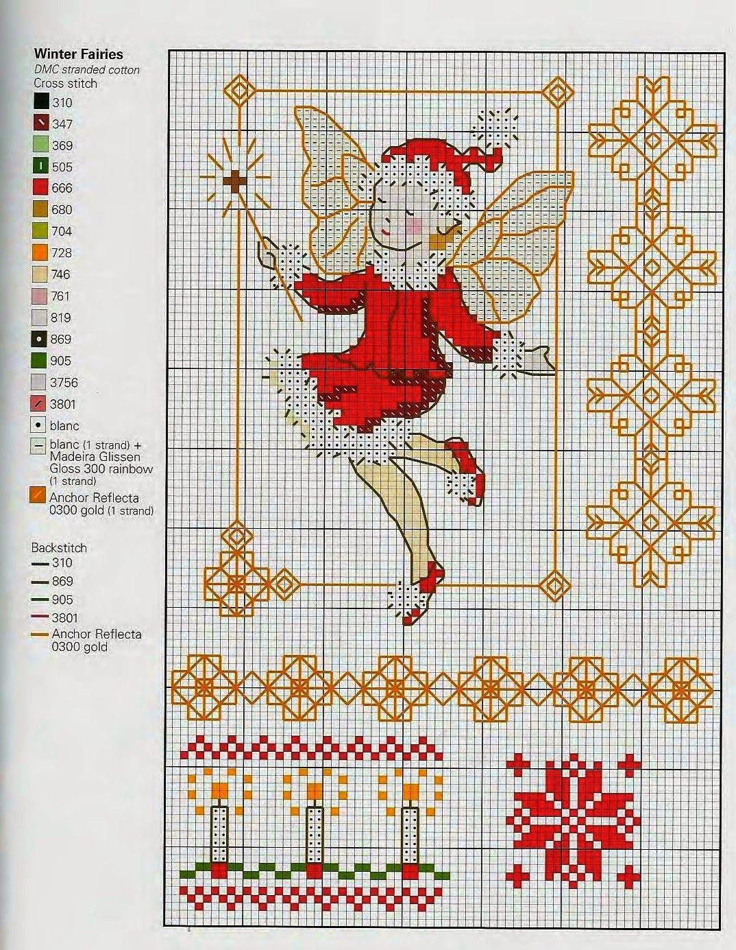 Cross Stitch *<3* Christmas chart