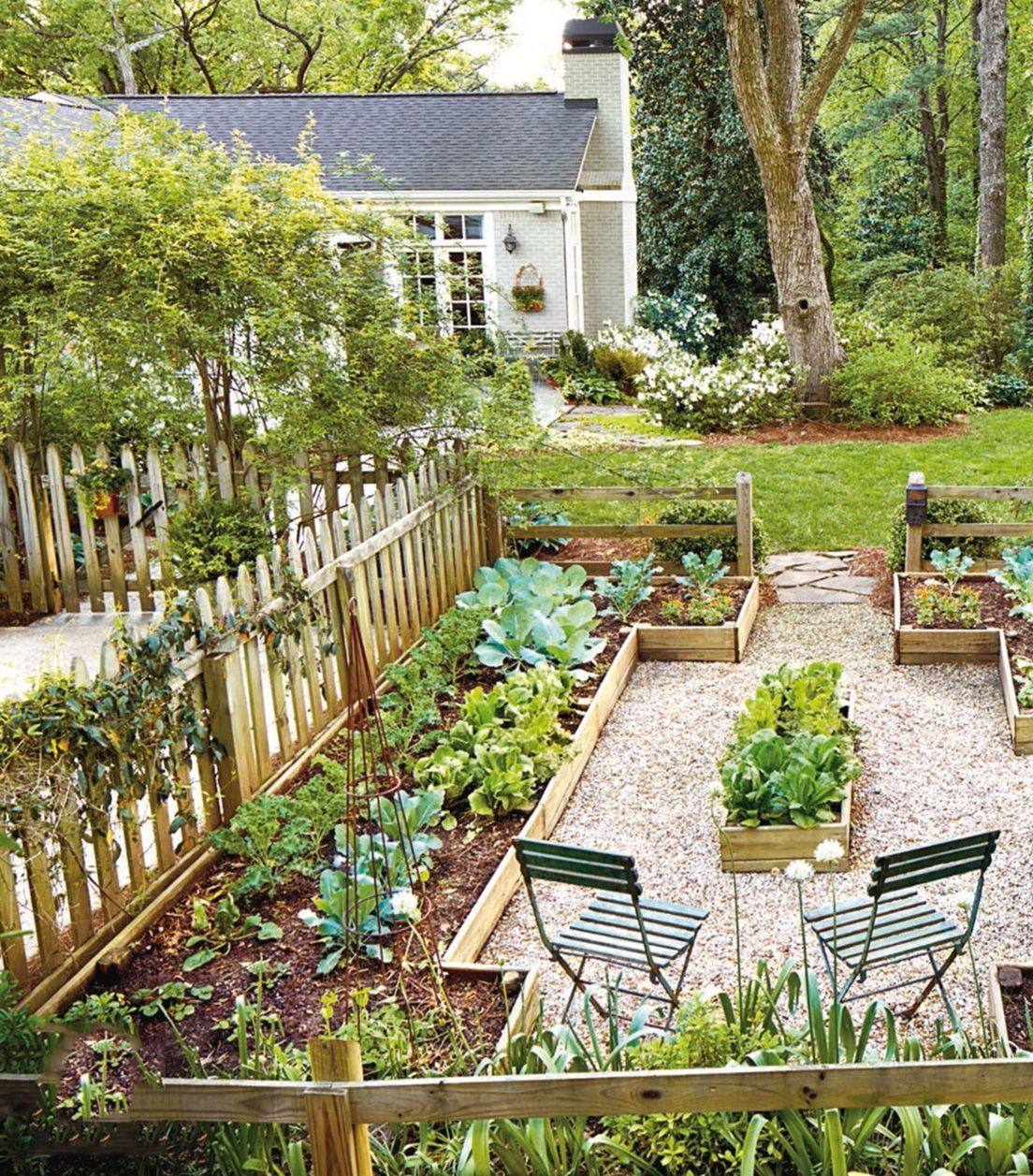 20 Raised Bed Garden Designs And Beautiful Backyard: 20 Stunning Small Backyard Landscaping Ideas With