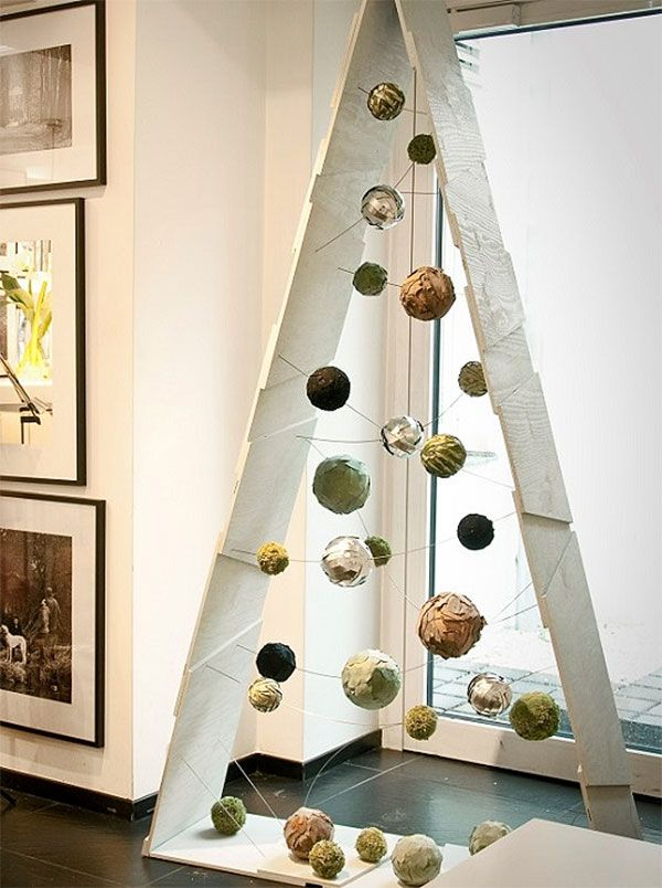 40+ Unique Christmas Tree Alternatives | Art & Home #christmastreeideas