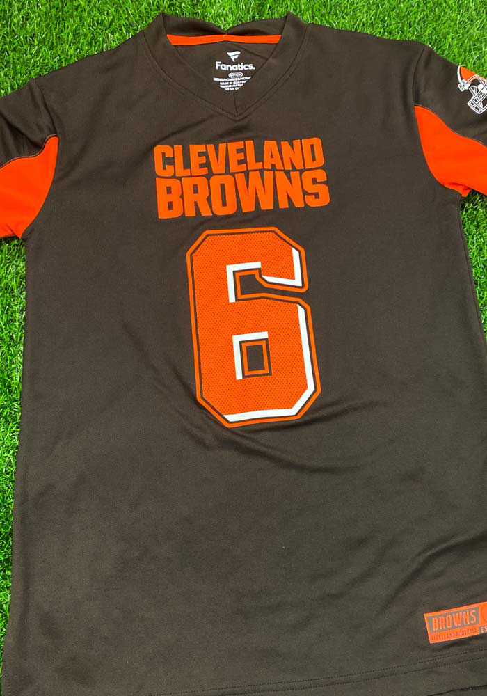 Baker Mayfield Cleveland Browns Brown Hashmark Short