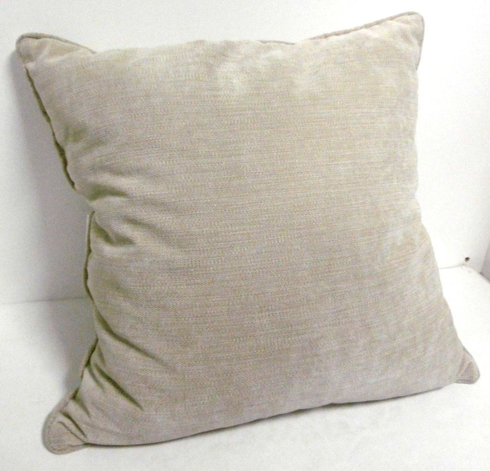 Arlee Pillow Tan 20 X 20 Single Soft Comfortable Down