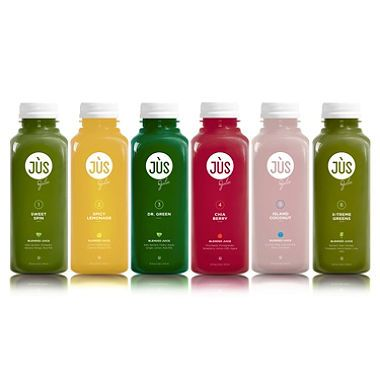 JUS by Julie 3-Day Blended Juice Cleanse Cleanse, Juice and Vegans - new blueprint cleanse green