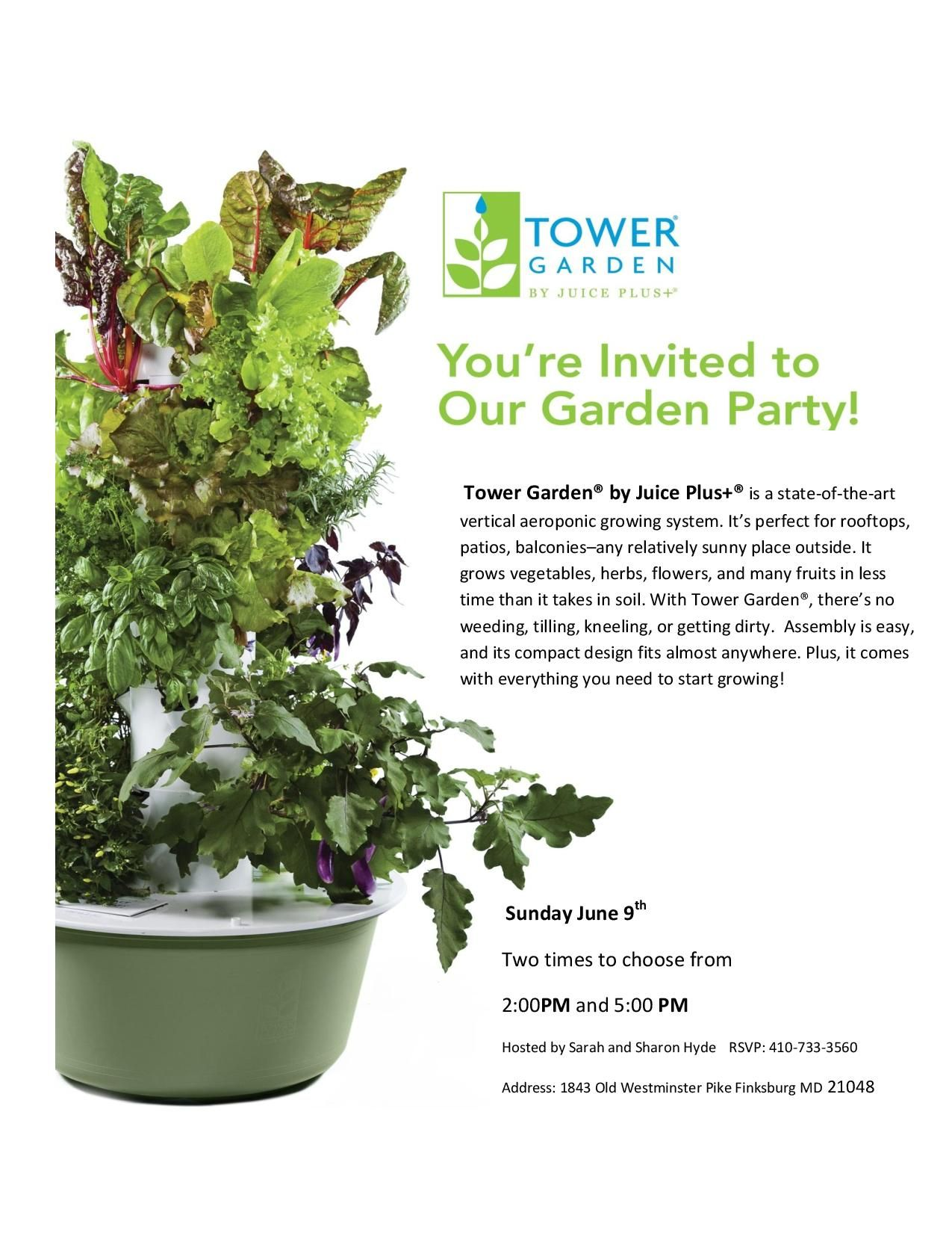 Tower Garden by Juice Plus Vertical Garden Garden
