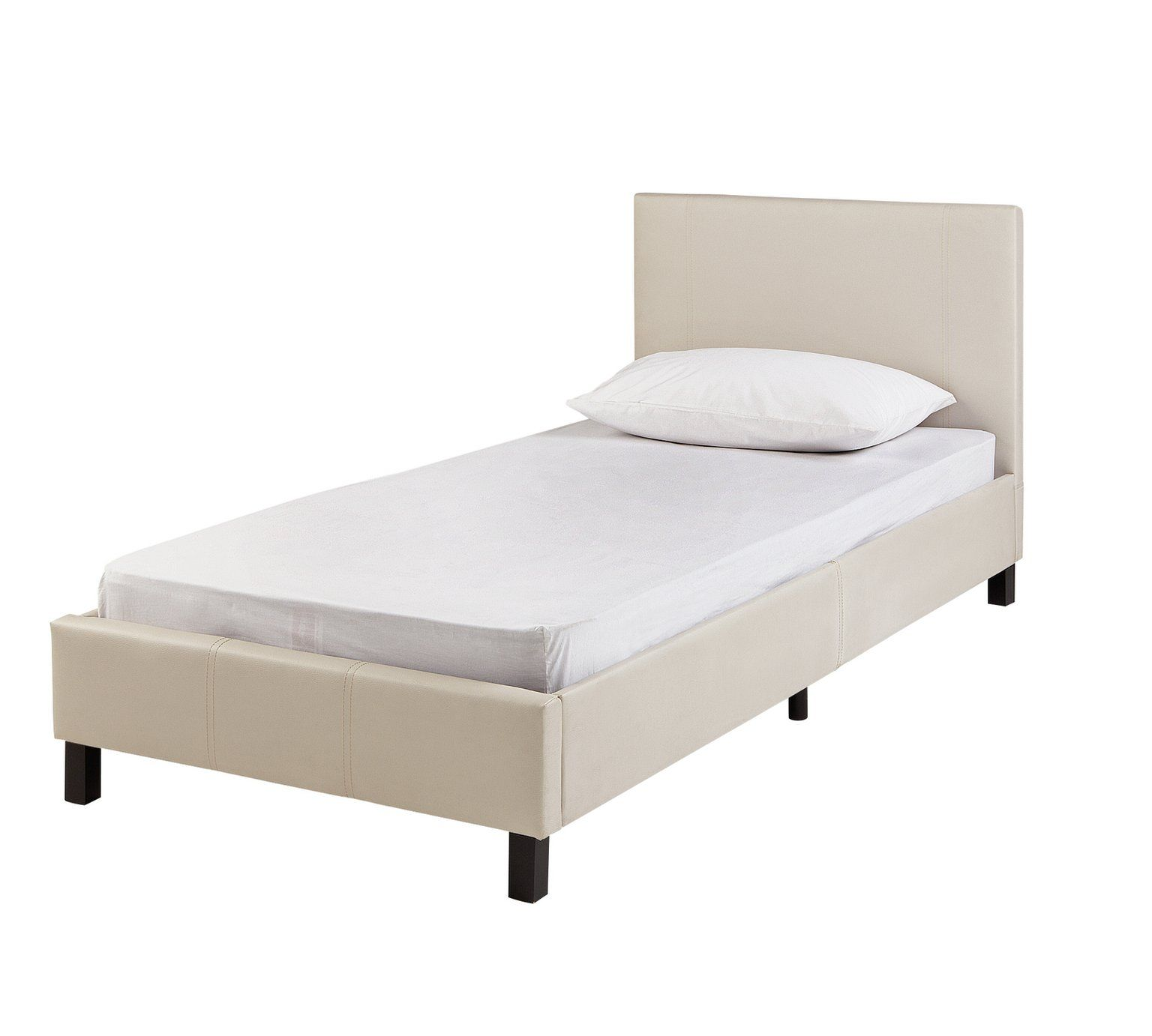 Buy Home Erica Single Bed Frame Natural Bed Frames Argos Single Bed Frame Single Bed Argos Home