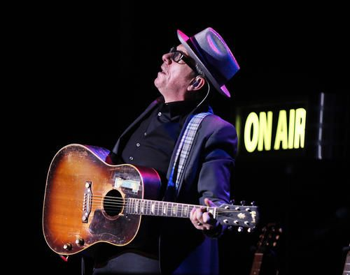 Elvis Costello performs at the State Theatre in Easton on November 23.
