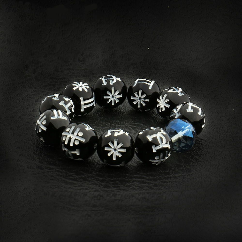Rare Marvel Black Panther T Challa Prop Bead Kimoyo Cosplay Wakanda Bracelet  US  Unbranded 21c51e4c1668