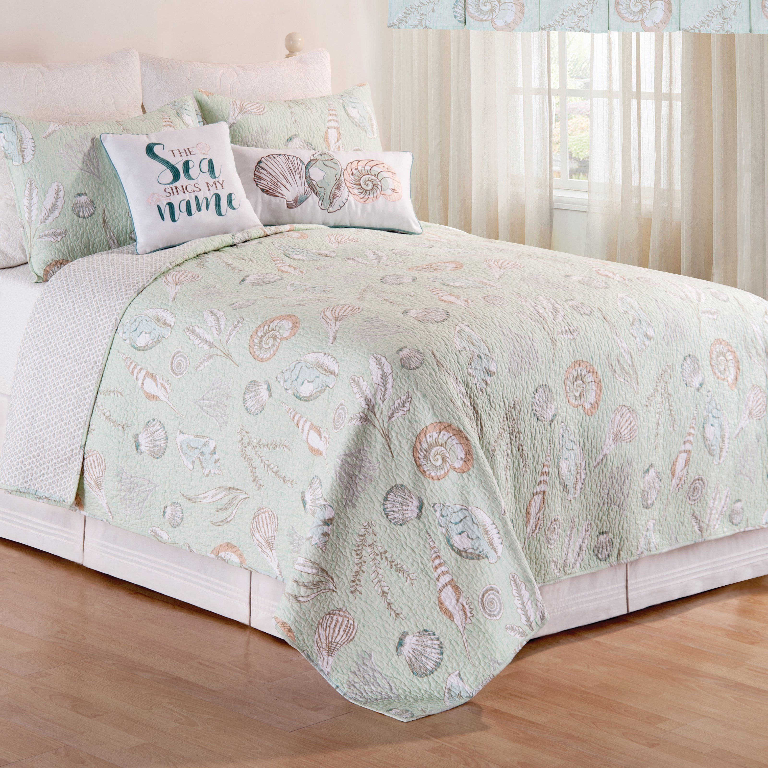 Best Breezy Shores Quilt Set By C F Home 82200 2Tset King 400 x 300