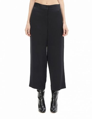 Rayon and linen trousers The Row - купить
