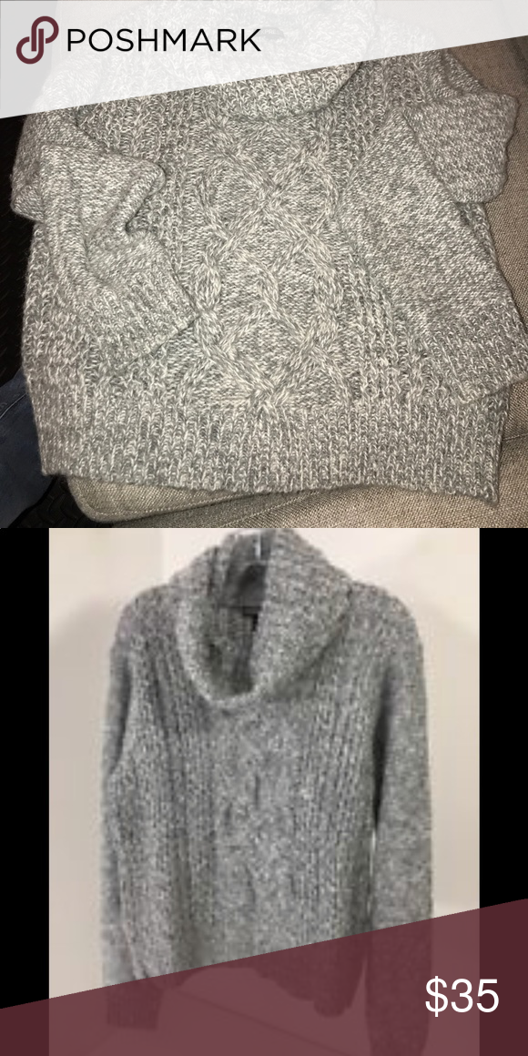 Express Cable Knit Cowl Neck Sweater With Images Cowl Neck Knit Sweater Cowl Neck Sweater