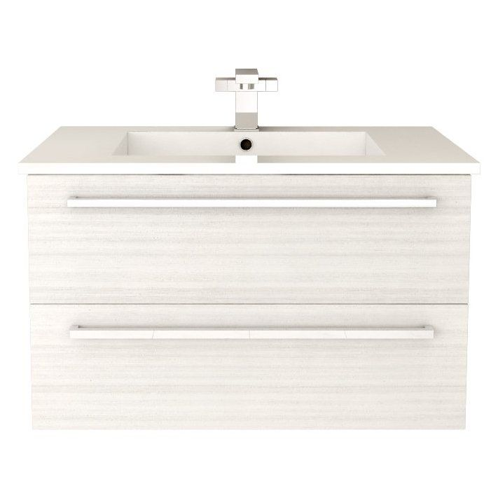 Cutler FV W/CHOCOLATE3 Silhouette White Chocolate Single Sink