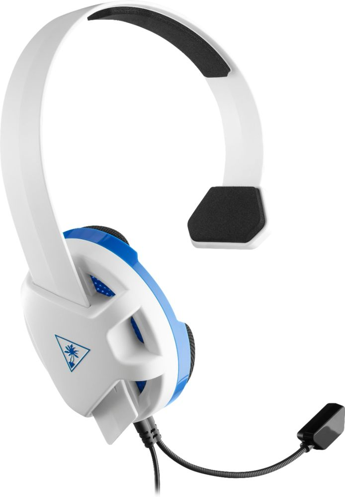 Turtle Beach Recon Chat Wired Mono Gaming Headset For Ps4 Ps4 Pro