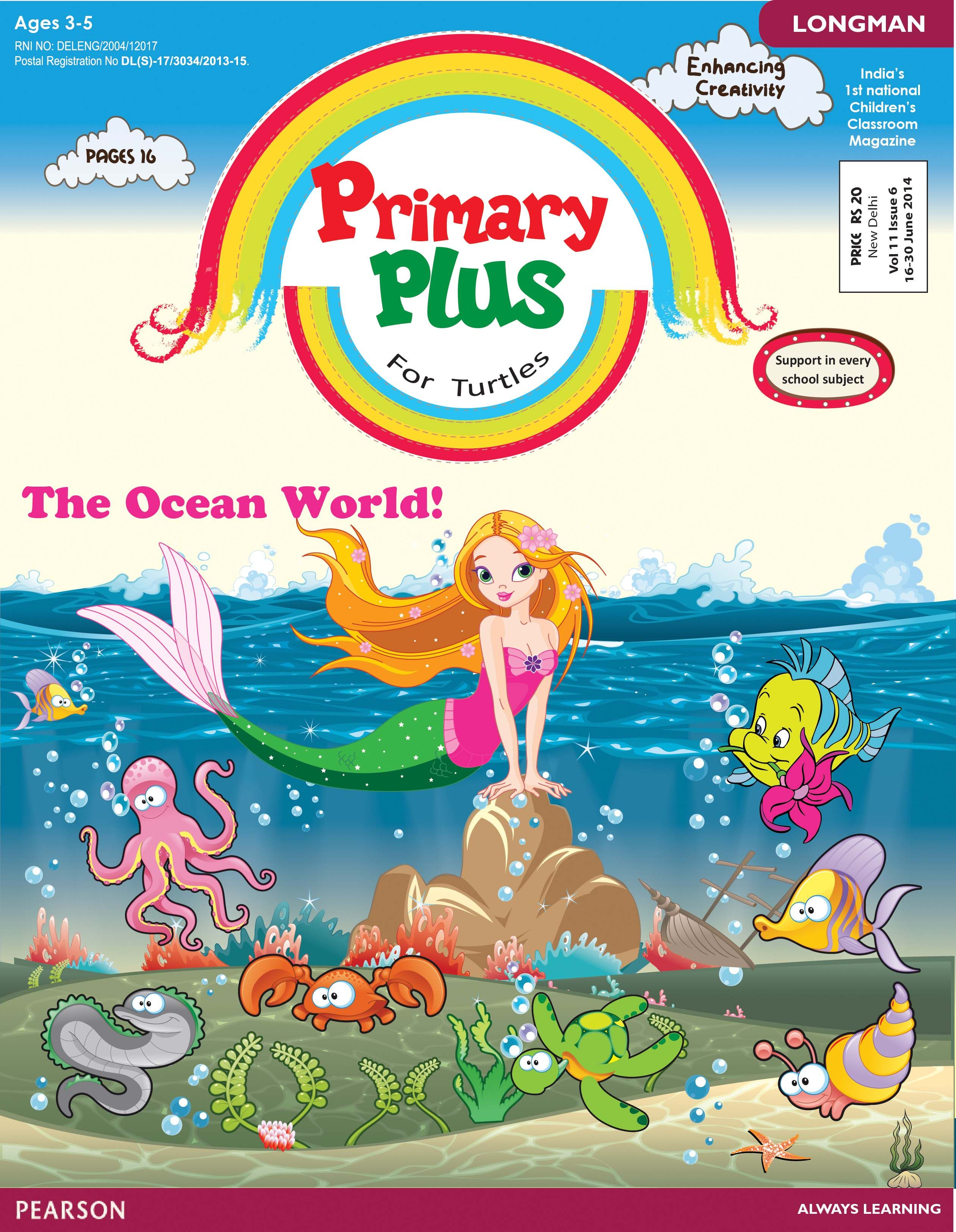 Primary Plus Turtle Issue Ii June 2014 Cover Page Primary