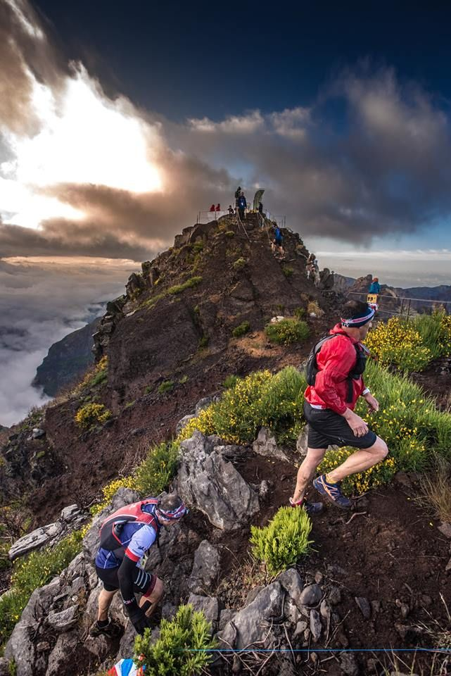 The summit of Madeira and USM at 1861m. Get ready for Pico Ruivo! Photo by João M. Faria. #TrailRunning #Skyrunning #UltraTrail Ultra Skymarathon Madeira ·