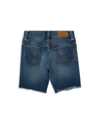 Polo Ralph Lauren Boys' Frayed Denim Cutoff Shorts - Little Kid - Geary Wash #denimcutoffshorts