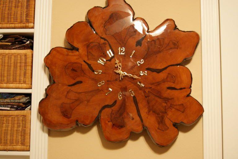 Cypress Clock Crafts And Diy Tutorials Picture Clock